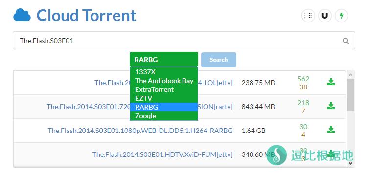 『原创』支持 BT(磁力链接)、离线下载和边下边播的老司机坐骑 —— Cloud Torrent 一键脚本