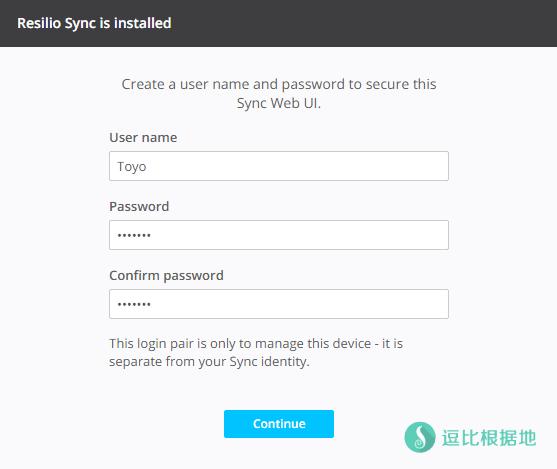 Linux 搭建 Resilio Sync Web UI 同步客户端教程