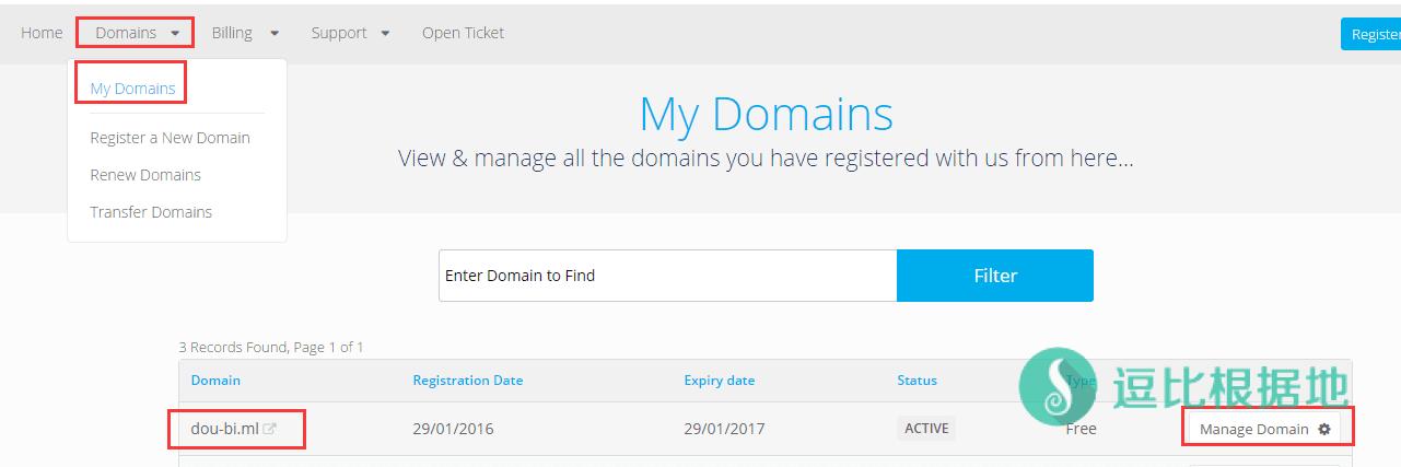 使用 CloudXNS 接管 Freenom 的免费域名解析,加快国内生效速度!