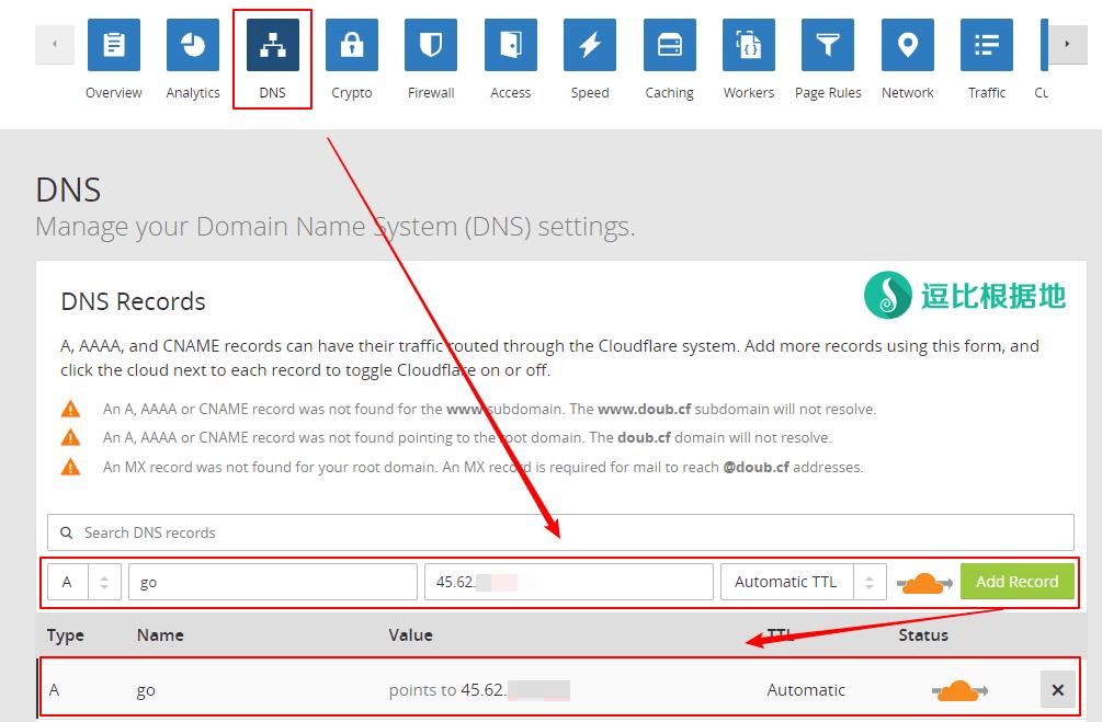 GoFlyway 进阶教程:免费域名+免费CDN+HTTP伪装=被墙的IP继续做代理