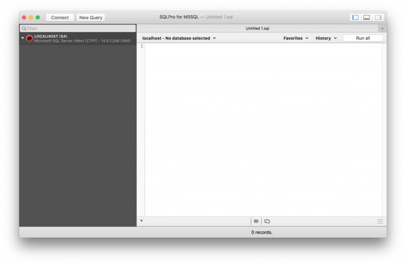 Docker下配置SQL Server for Linux