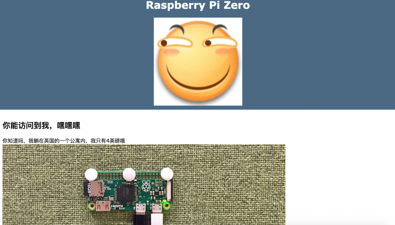 Raspberry Pi Zero联网奇妙记